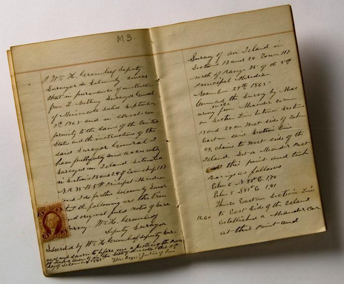 Original Public Land Survey Field Notes of Minnesota – Field Note