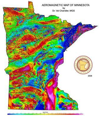 State Geology Data Minnesota - State of minnesota map