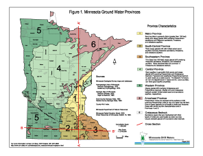 Ground Water GIS Data Minnesota - Dnr topo maps