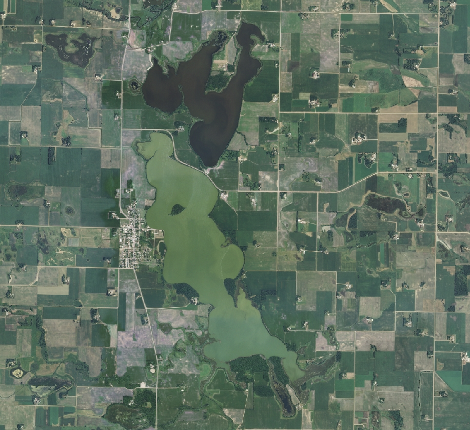 aerial photography of minnesota