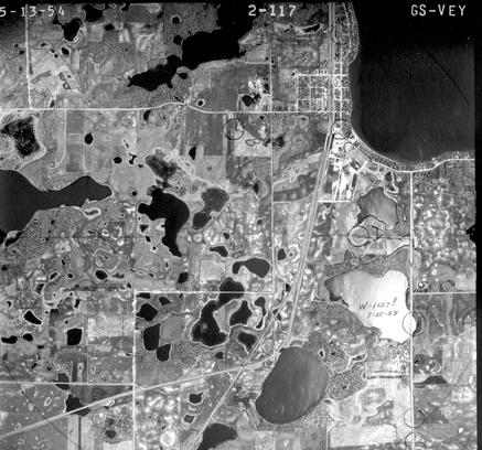 Aerial Photography Black And White