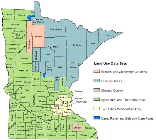 Minnesota Land Use And Cover Recent